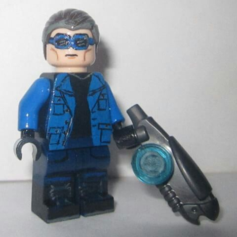Cw S The Flash Captain Cold Wentworth Miller Lego Custom Minifigures The Flash Captain Cold Lego Dc