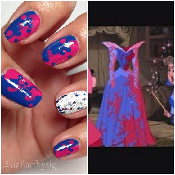 Sleeping Beauty Nails: Pinterest • The World's Catalog Of Ideas
