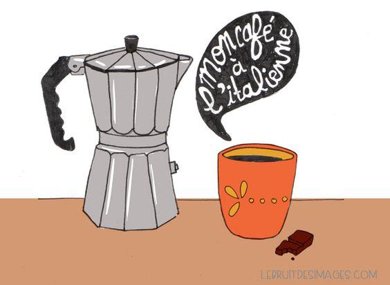 geste écolo : cafetière italienne - Marina Le Floch