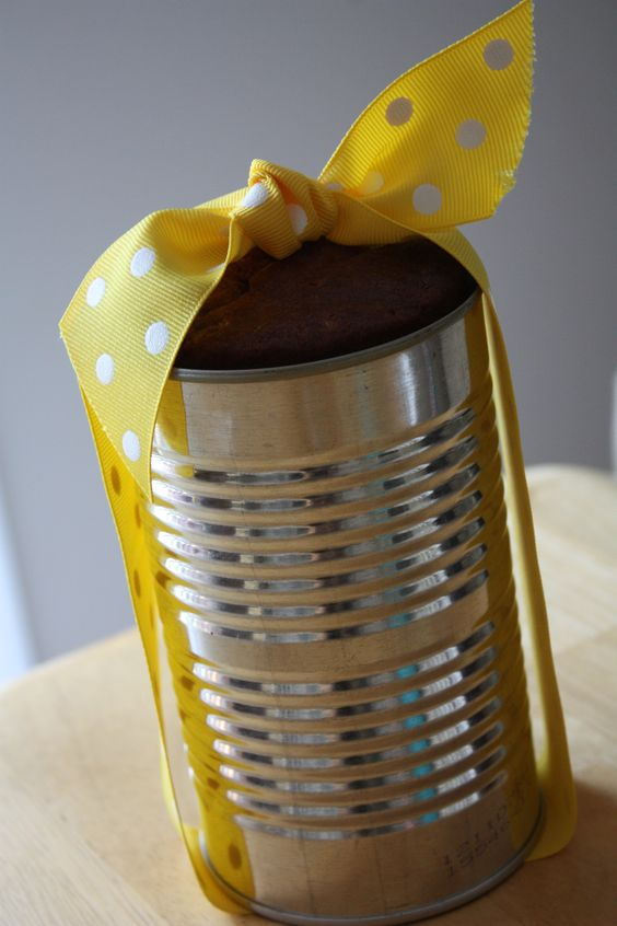 Banana Bread in a Can Recipe