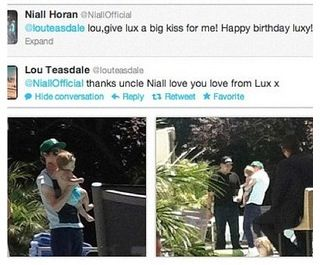 Uncle Niall!!! That is too precious.
