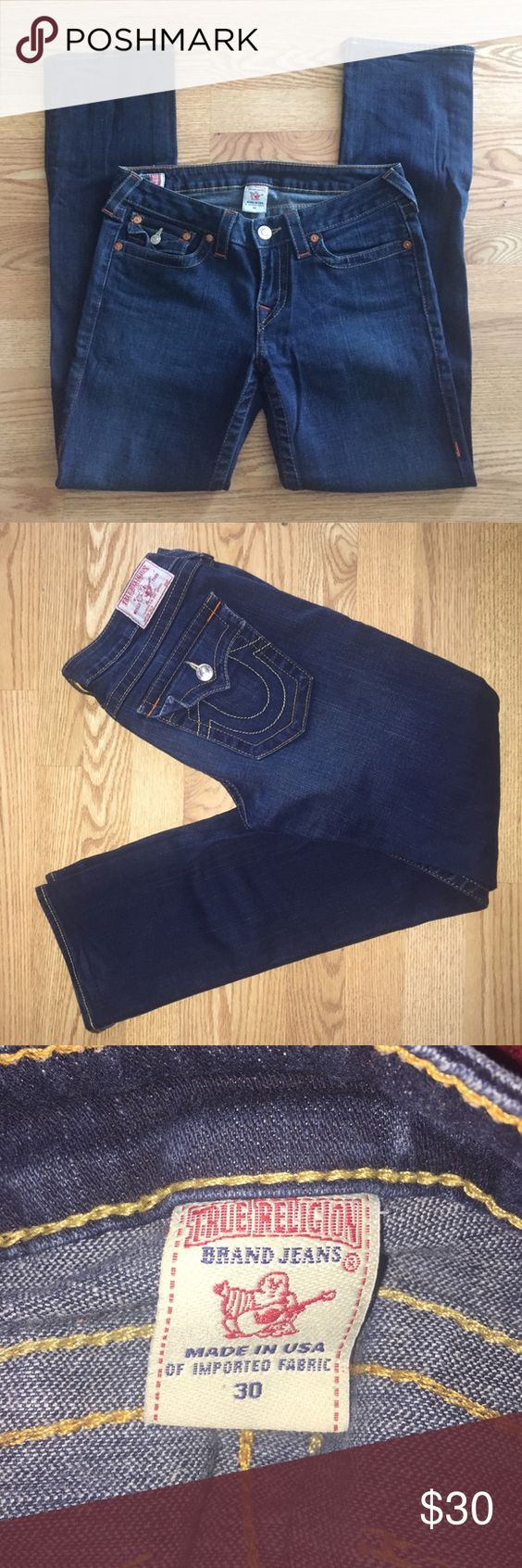 "True Religion Billy Straight Leg Jeans Size 30 True Religion Billy Straight Leg Jeans Size 30. Inseam 31"". True Religion Jeans Straight Leg"