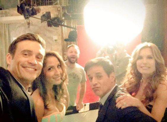 Behind the scenes on the set of Y&R