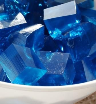Ice Cubes: Blue jello can be used for any winter birthday party (penguin, snowmen / snowflakes, skiing or sledding or ice skating, polar bear, etc.) or a Fourth of July party