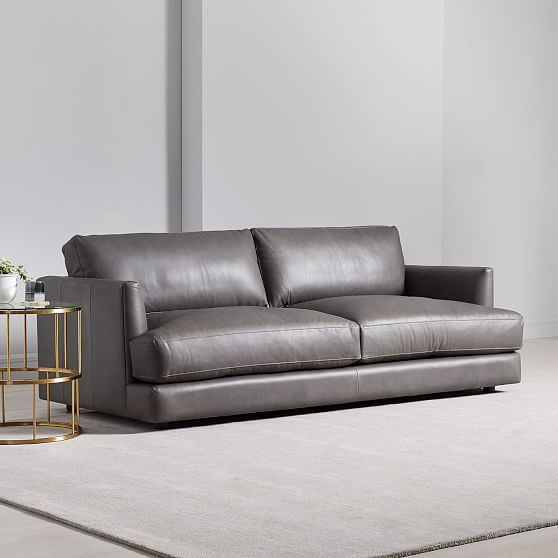 Haven Leather Sofa In 2020 Leather Sofa Leather Sofa Furniture Sofa