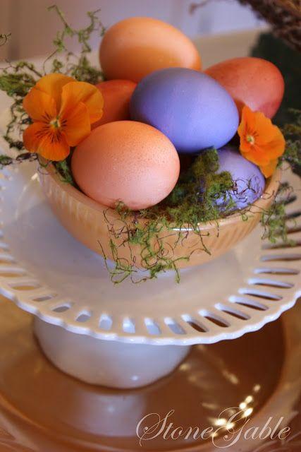 Nestled Easter Eggs