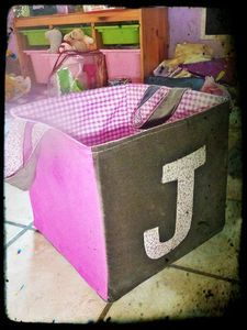 tuto panier a jouets diy couture rangement pinterest. Black Bedroom Furniture Sets. Home Design Ideas