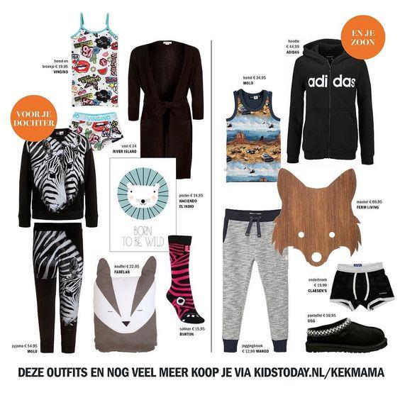 Slaapfeestje. Kan zo in de logeertas: kleren waarin je kind lekker kan keten en in slaap kan vallen. Deze outfits en nog veel meer koop je via @kidstodaynl  #kekmamamagazine #kekmama #magazine #fashion #mode #kindermode #kids #kidstodaynl #kekmama9