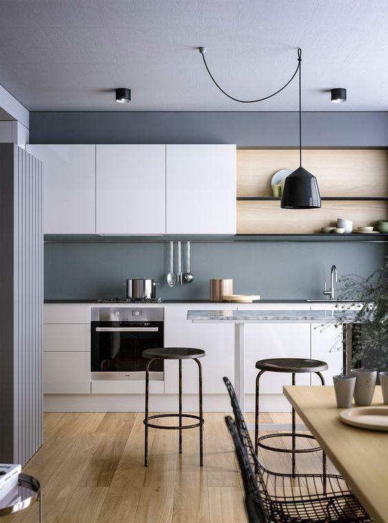 25 Beautiful Scandinavian Kitchen Designs Nel 2020 Lampadari Moderni Arredamento Cucine