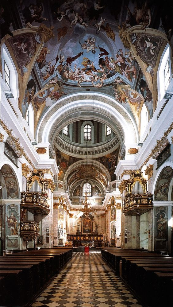 Catedral de San Nicolás, Liubliana, Eslovenia