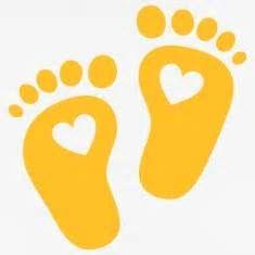 Baby feet, heart, birth, gift, mom, pregnancy T-Shirts
