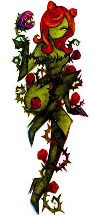 Poison Ivy #Batman