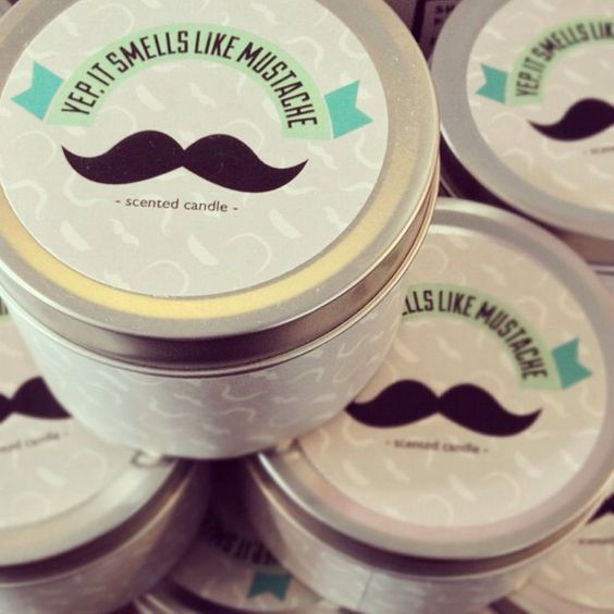 MUCHO MOUSTACHES! #urbanoutfitters Candles that smell like mustaches