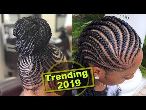 Trending 2019 Amazing African Braids Hairstyles Youtube Hair Styles African Braids Hairstyles Natural Braided Hairstyles