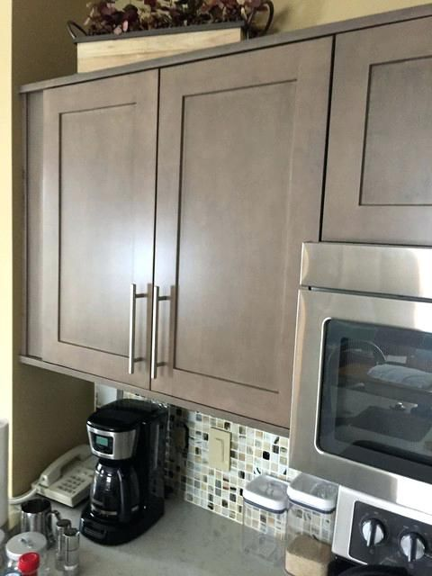 Grey Wash Kitchen Cabinet Kitchen Cabinets Refaced With In