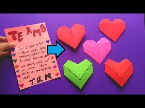 Como Doblar Tus Cartas En Forma De Corazon Youtube Formas De Cartas Carta De Corazon Decoraciones Para Cartas