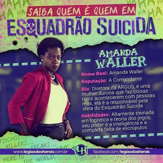 Mais uma imagem da nossa série sobre o Esquadrão Suicida. #esquadraosuicida #suicidesquad #dc #dccomics #esquadraolh Siga a gente no Snap 👻 legiaodosherois 👻