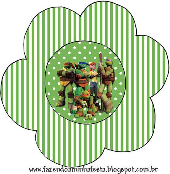 Flor Tartarugas Ninjas: