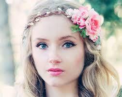 bridal floral crown - Google Search
