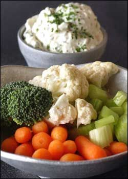 copycat recipe of Green Goddess dip from Melting Pot (hope it's as delicious as the real thing!)