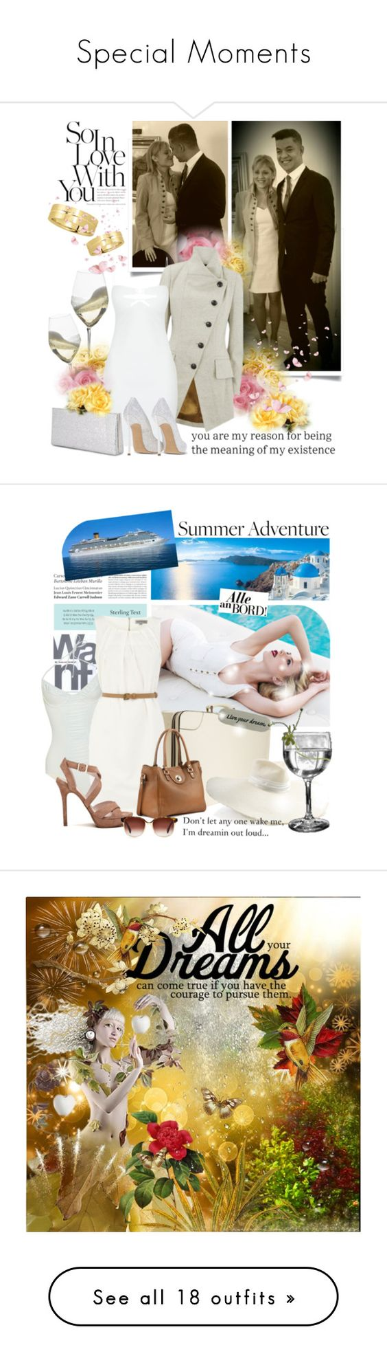 """""""Special Moments"""" by absolut-me ❤ liked on Polyvore featuring Riedel, Vivienne Westwood Anglomania, Casadei, Jimmy Choo, Allurez, SCARLETT, Tiffany & Co., Costa, Gap and Noelle"""