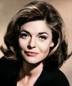 Anne Bancroft. Adore her. She is a fashion icon for me. Understated and sophisticated. I'm not like that...yet!