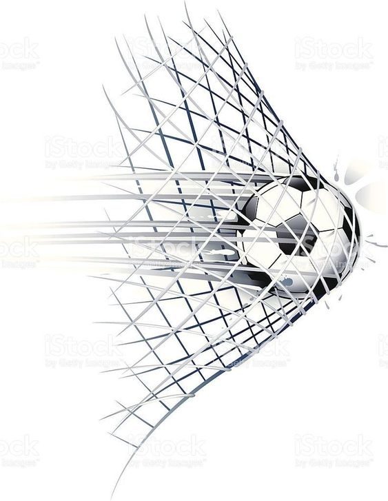 Soccer Goal Royalty Free Stock Vector Art Soccer Soccer Memes Soccer Art Soccer Tattoos Soccer Drawing