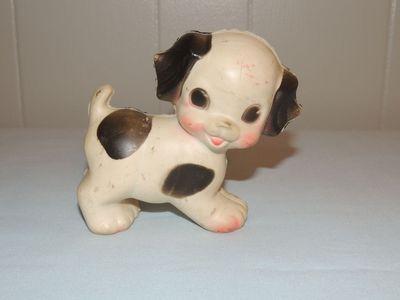Vintage Sun Rubber Ruth Newton Squeak Toy Dalmatian Dog