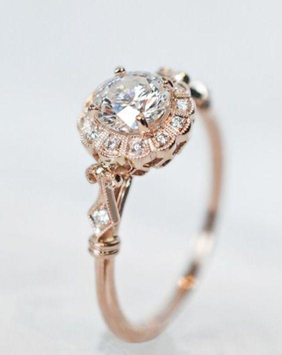 Jewellery Nepal Both Jewellery Stores Like Lovisa Rose Gold Engagement Ring Vintage Vintage Engagement Rings Rose Gold Engagement Ring