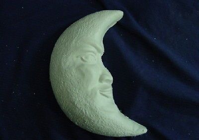 MOON CONCRETE CEMENT PLASTER STEPPING STONE MOLD 7120