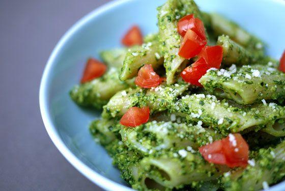 Kale and Walnut Pesto by onehungrymama #Pesto #Kale #Walnut #Healthy #Nutritious #onehungrymama