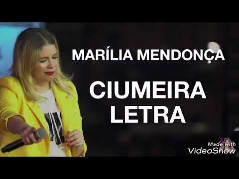 Marilia Mendonca Ciumeira Letra Youtube Marilia Mendonca