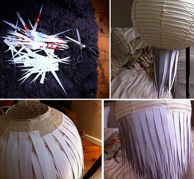Lustre de papel magya