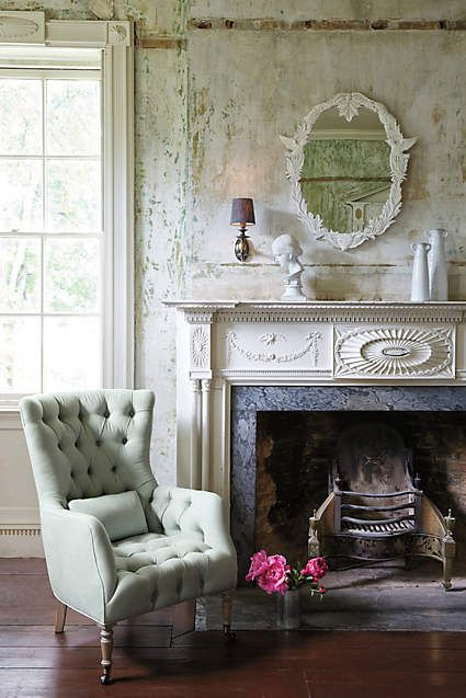 Linen Julienne Chair - anthropologie.com: