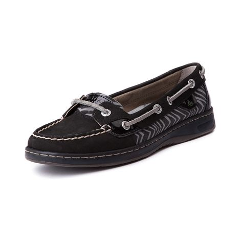 Shop for Womens Sperry Top-Sider Angelfish Boat Shoe in Black ...