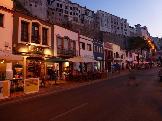 Mao, Menorca: cute port and town