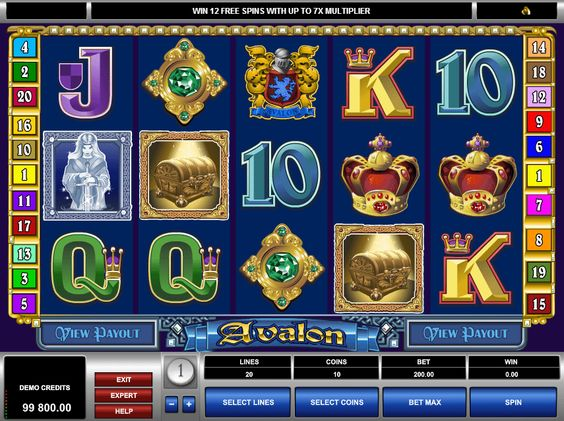 Avalon - http://casinospiele-online.com/spielautomat-avalon-online-kostenlos-spielen/