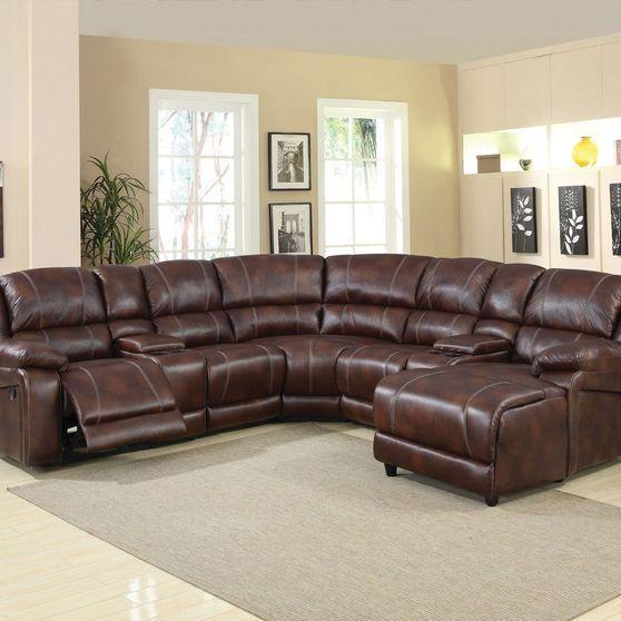 Zanthe Ii Sectional Sofa 51445 Acme Corporation Recliner Sectionals In 2021 Sectional Sofa Reclining Sectional Best Sofa