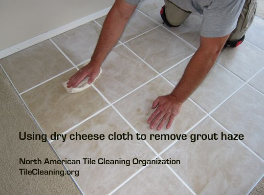 The Easiest Technique For Removing Grout Haze Is To Use A