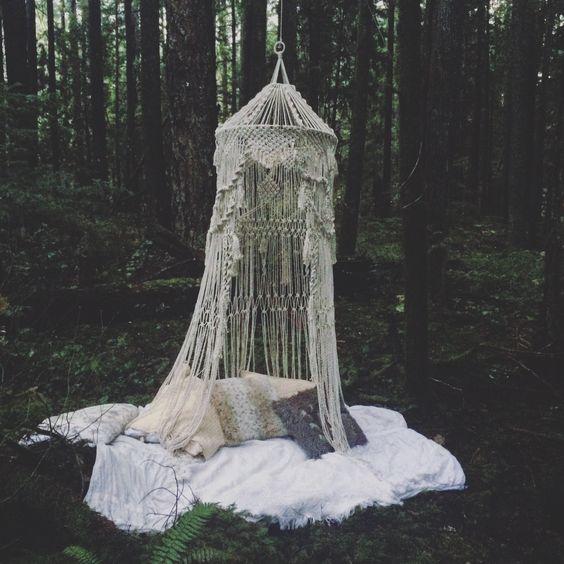 Bohemian Macrame Canopy
