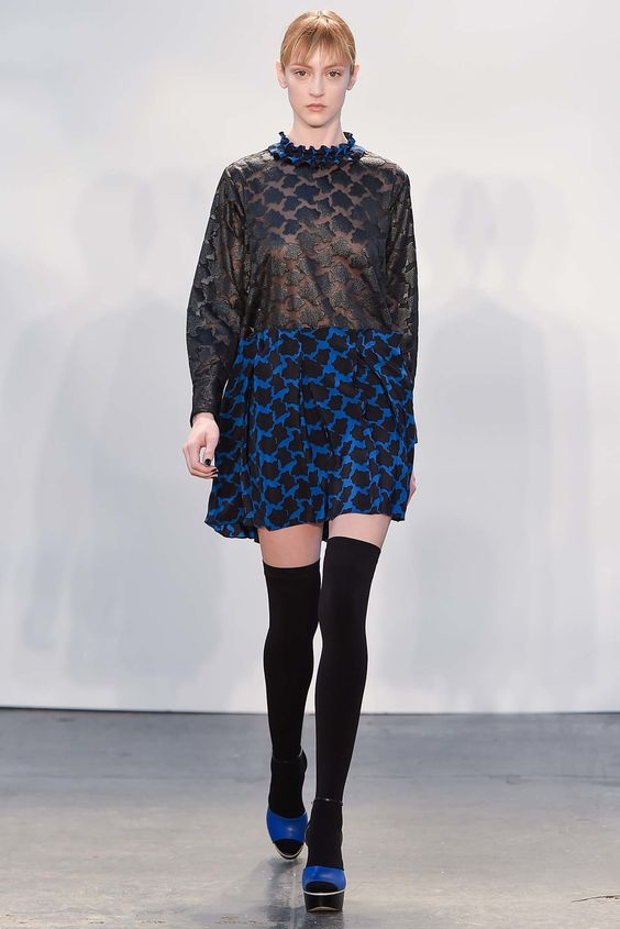 Tanya Taylor Fall 2015 Ready-to-Wear Fashion Show - Frances Coombe