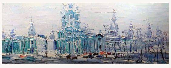 """""""Smolny Cathedral,"""" Oleg Rysyev, 2007"""