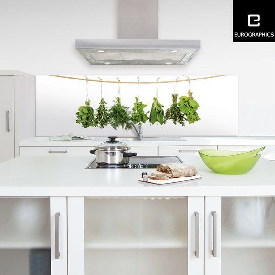 Küchenrückwand aus Glas bedruckt mit Designmotiv  - küchenrückwand glas bedruckt