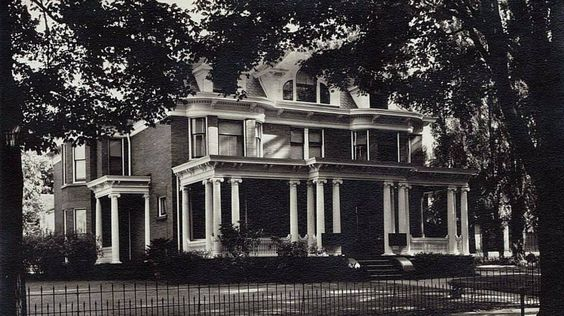 "Michael Liebel House, 139 West 21st Street (1950's) ---  ""The house was built in 1882"" ----  Michael Liebel, Jr. was the 30th Mayor of Erie and a Democratic member of the United States House of Representatives from Pennsylvania."