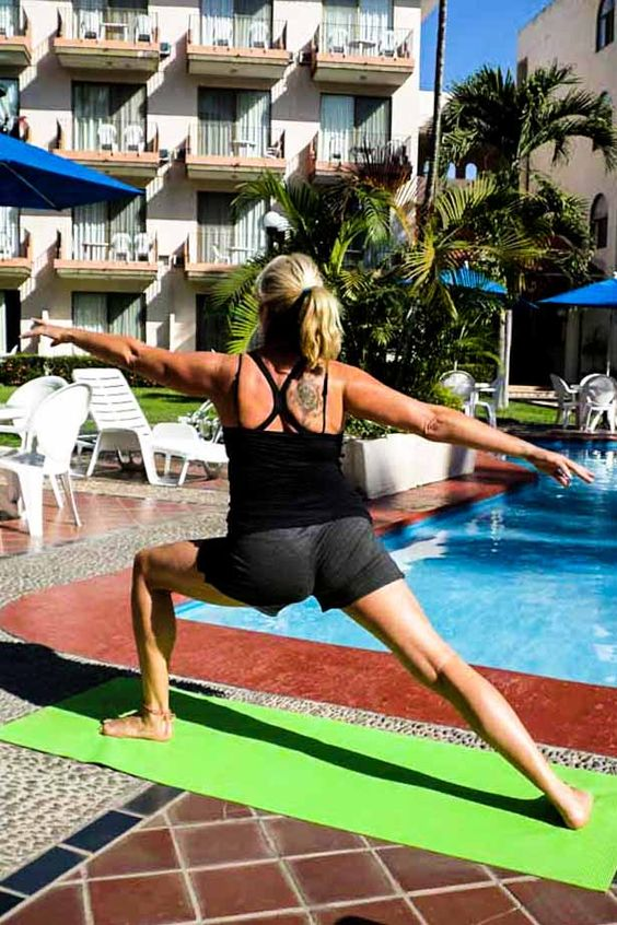Staying fit when traveling