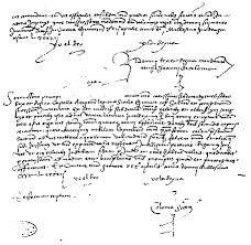 06 - La bitácora de la  de Álvaro de Mendaña en el Archivo de Indias de Sevilla.