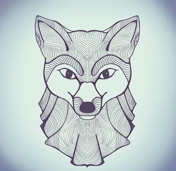 Je dessine, renard, stylo, fox