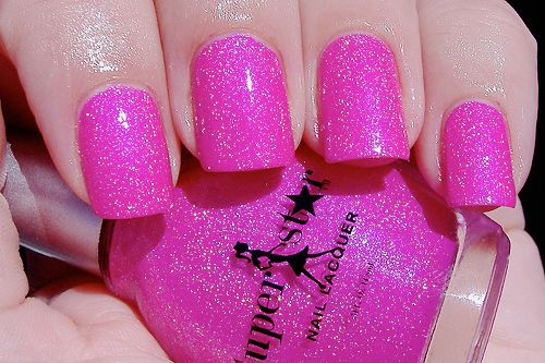 pink as pink could get!!