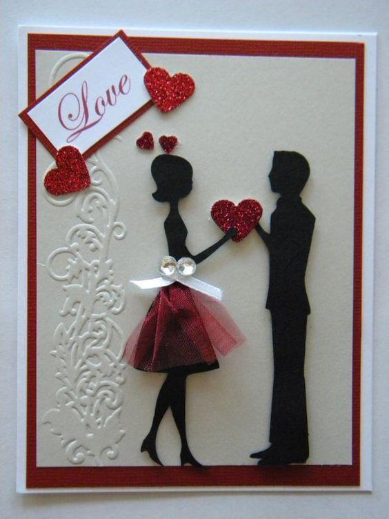 Card love valentine karten pinterest cricut cartridges pretty cards and handmade