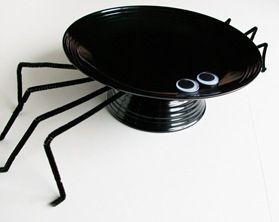 Spider serving Plate
